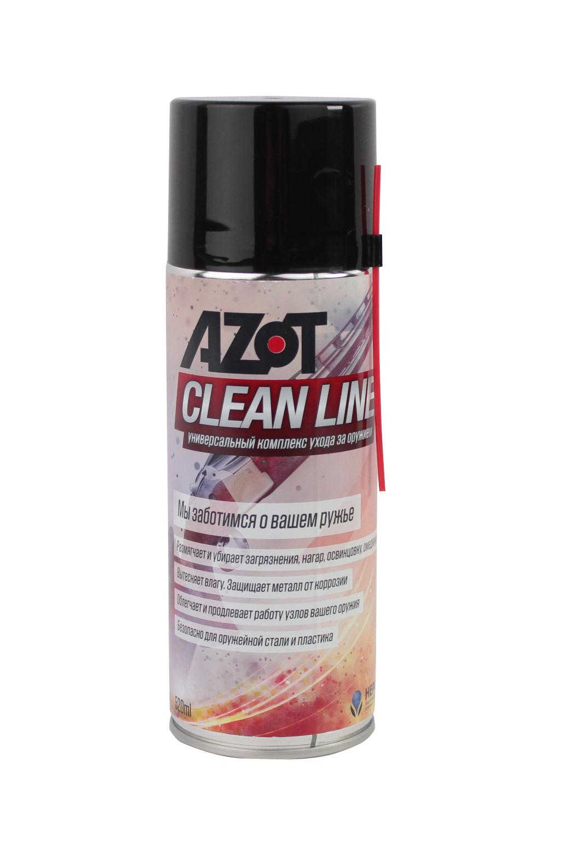 Средство для чистки оружия Azot Clean Line 520 мл купить в интернет-магазине «Мир охоты»