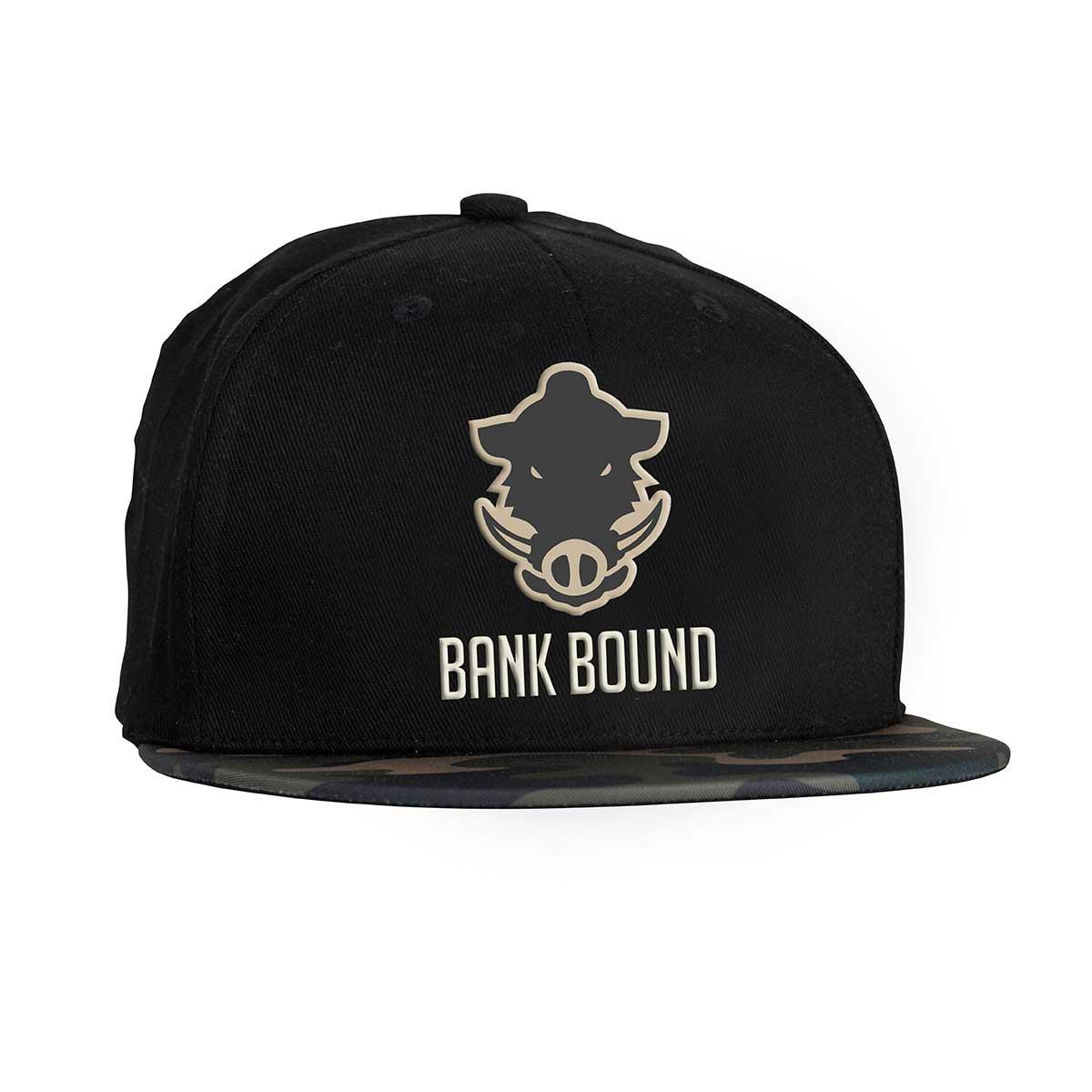 Кепка Prologic Bank bound flat bill cap black camo купить в интернет-магазине «Мир охоты»