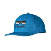 Кепка Patagonia Roger That Hat Line Logo larimar blue