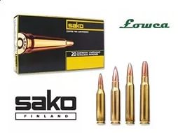Патрон 243Win Sako 5,8 Speedhead FMJ