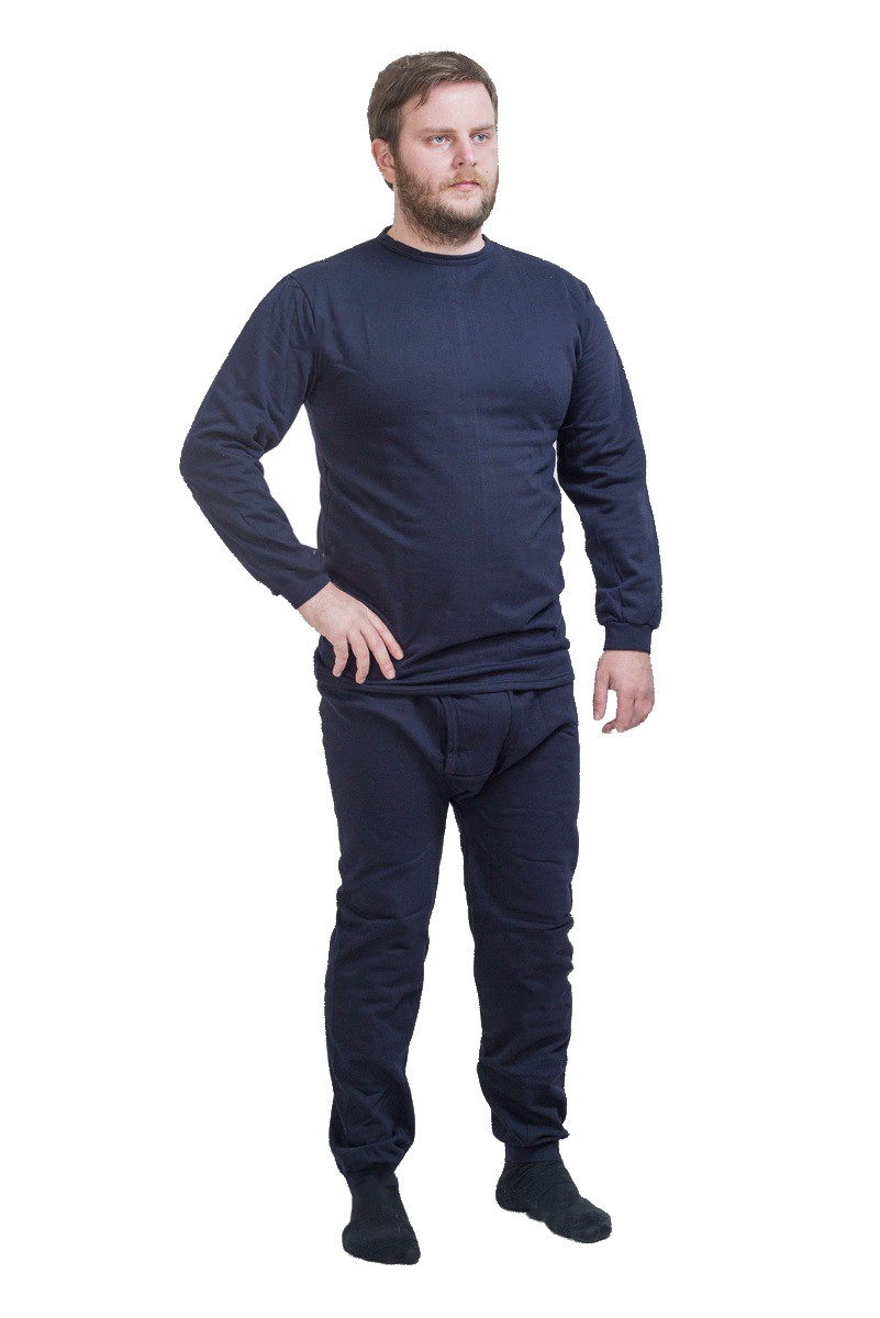 Комплект белья Хольстер с начесом темно-синий купить в интернет-магазине «Мир охоты»