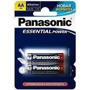 Батарейка Panasonic Essential Power LR6 AA бл/2