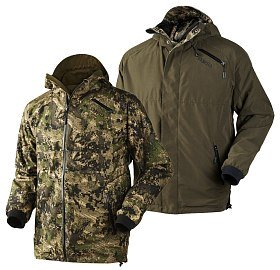 Куртка Harkila Grit reversible optifade/hunting green