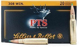 Патрон 308Win Sellier&Bellot 11,7 PTS Hornady 1/20