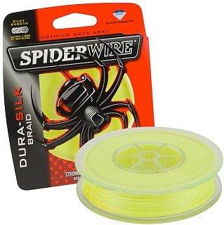 Шнур Spiderwire DuraSilk yellow 137m 0.06мм