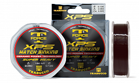 Леска Trabucco T-force XPS match sinking 150м 0,165мм