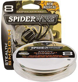 Шнур Spiderwire stealth smooth 8 camo 150м 0,17мм