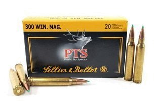 Патрон 300WM Sellier&Bellot 11,7 PTS Hornady 1/20
