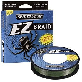 Шнур Spiderwire EZ Braid 137m green 0.12