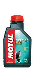 Масло Motul ПЛМ синт 2Т Technosynthese Outboard Tech 1L
