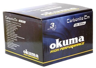 Катушка Okuma Carbonite feeder 2M 355FD