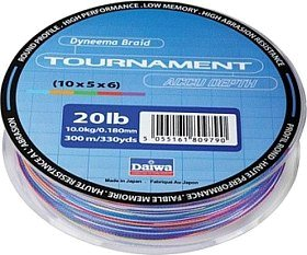 Шнур Daiwa Tournament Accudepth 0,14мм 150м 10lb