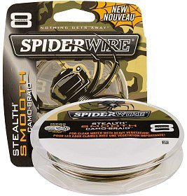 Шнур Spiderwire stealth smooth 8 camo 150м 0,30мм