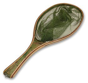 Подсачек Vision Oval & green rubber net