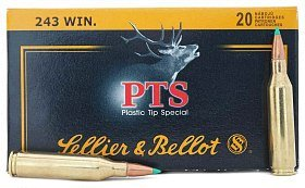 Патрон 243Win Sellier&Bellot PTS Hornady 6,1г 1/20