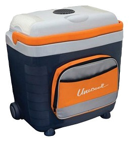 Холодильник Camping World Unicool 28л с карманом gray