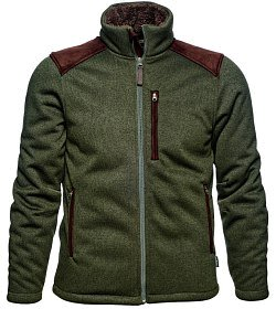 Куртка Seeland Dyna knit fleece forest green р.L