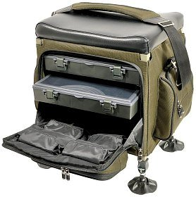 Стул-рюкзак TF Gear Compact tackle seat box
