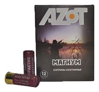 Патрон 12х76 Азот 0 Магнум купить в интернет-магазине «Мир охоты»