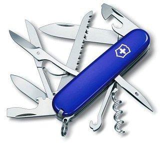 Нож Victorinox Huntsman 91мм 14 функций синий купить в интернет-магазине «Мир Охоты»