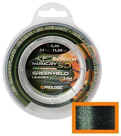Леска Prologic Mimicry helo leader 100м 32lbs 15,6кг 0,50мм green