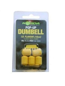 Приманка Korda Dumbell lIB pop-up 16мм
