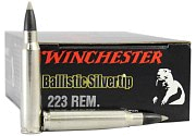 Патрон 223Rem Winchester Ballistic silver tip 3,56г