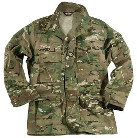Куртка Mil-tec US BDU Feldjacke poly co multicam
