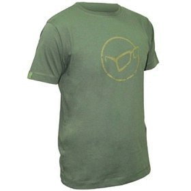 Футболка Korda Distressed logo green