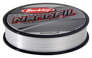 Шнур Berkley Nanofil clear 125м 0,10мм