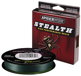 Шнур Spiderwire stealth green 137м 0,10мм