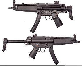 Автомат Classic Army CA MP5 A5 Navy B&T AEG черный