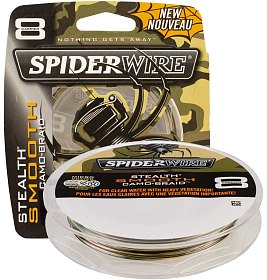 Шнур Spiderwire stealth smooth 8 camo 150м 0,12мм