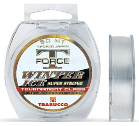 Леска Trabucco T-force winter ice 25м 0,084мм
