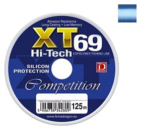 Леска Dragon XT69 Hi-Tech competition 125м 0.16мм 3.70кг
