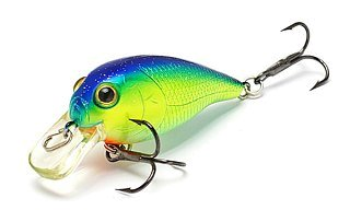 Воблер Lucky Craft Bevy Crank 45SR 263 Chartreuse Blue