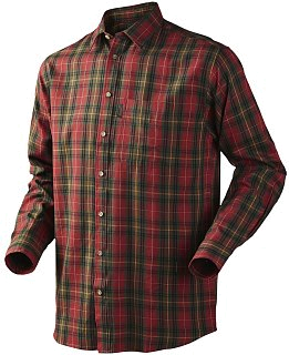Рубашка Seeland Pilton shirt spice red check