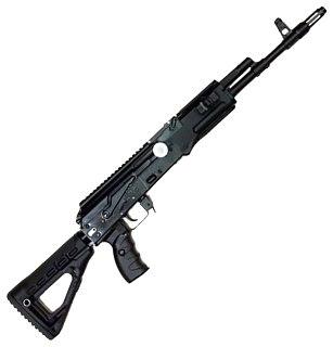 Карабин КК Сайга TG2 366TKM с обвесом купить в интернет-магазине «Мир охоты»